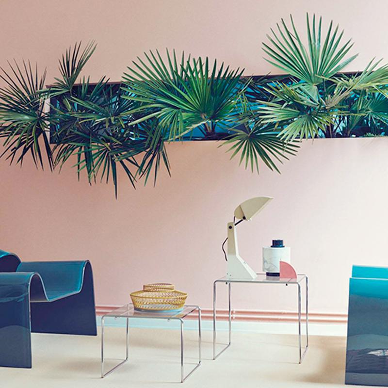 Pink Green Interior Trine 39 S Wardrobe