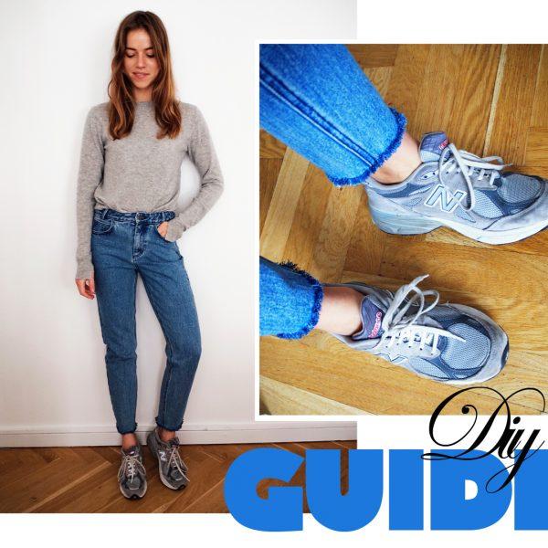 DIY: Frayed Hem Jeans / Frynsede Jeans