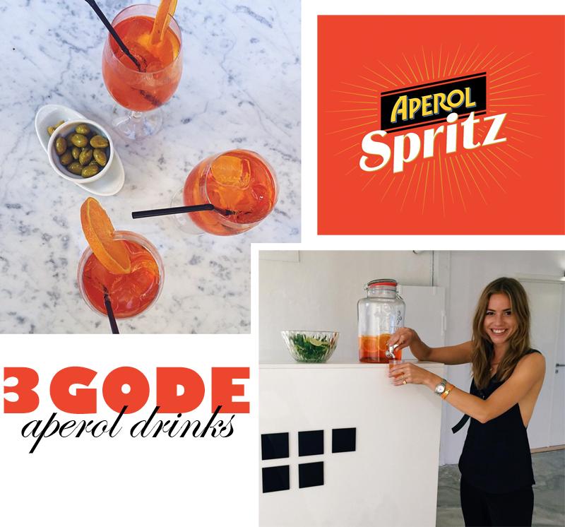 3 Goodies: Versioner af Aperol Spritz