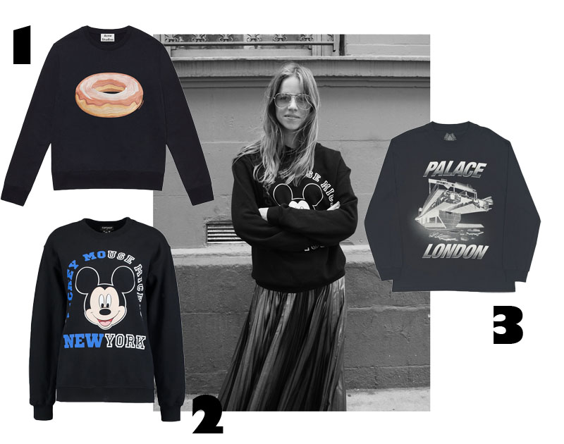 3 goodies: Black Sweatshirts