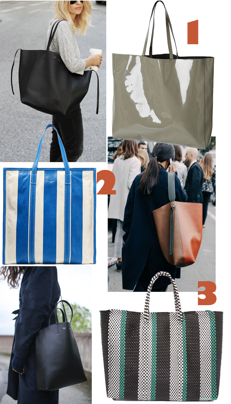 3 goodies: Bags for work
