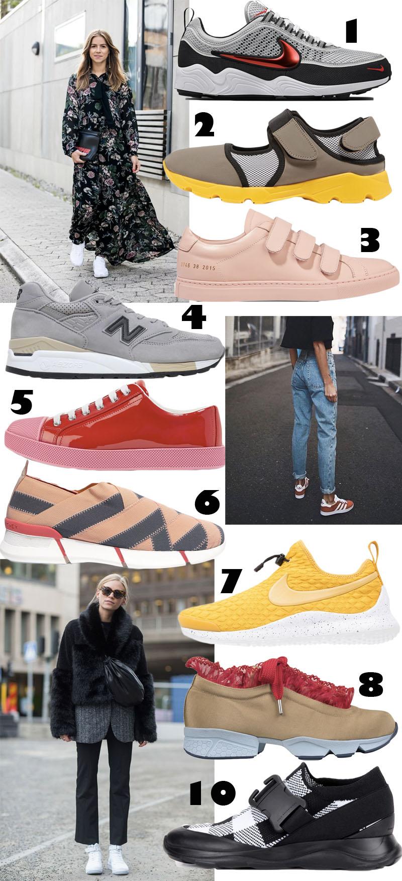 9 Spring sneakers