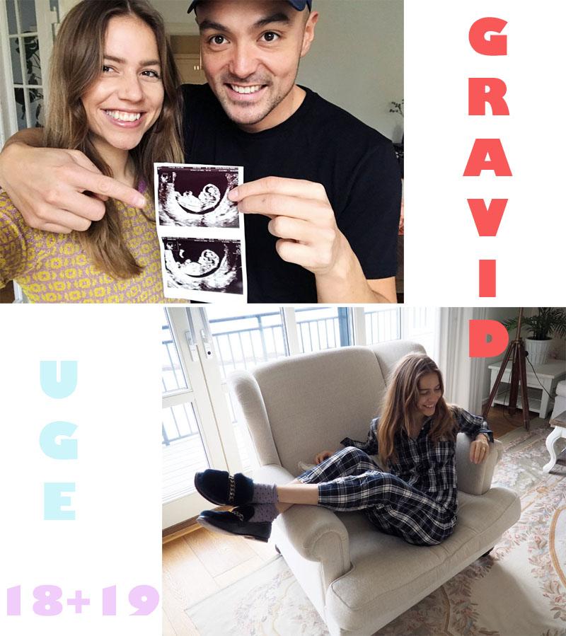 Gravid uge 18 + uge 19 - Trine Kjær