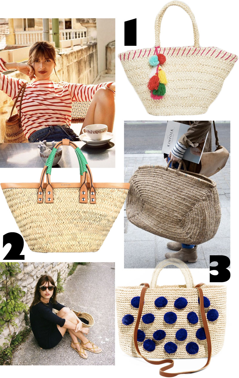 3 goodies: Straw Bags