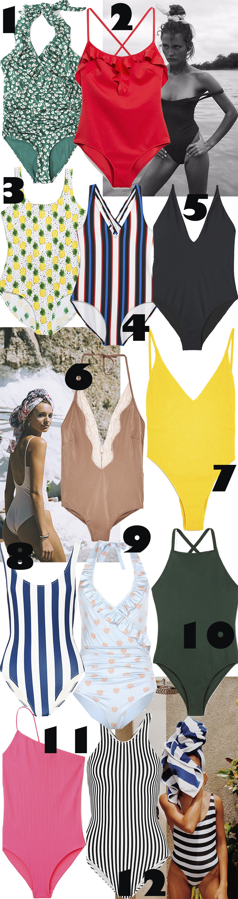 Eyes on: Swimsuits
