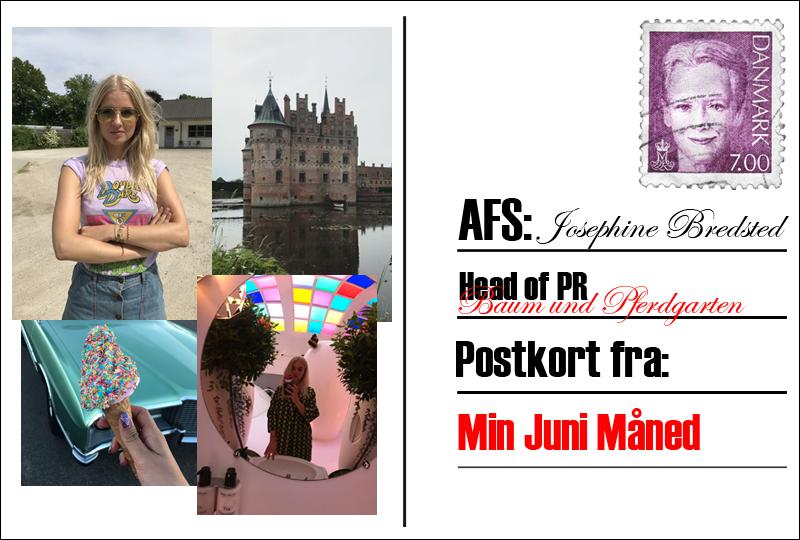 Postkort fra sommerlandet med Josephine Bredsted
