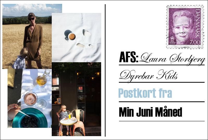 Postkort fra sommerlandet med Laura Storbjerg