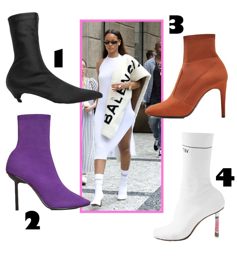 4 sock boots