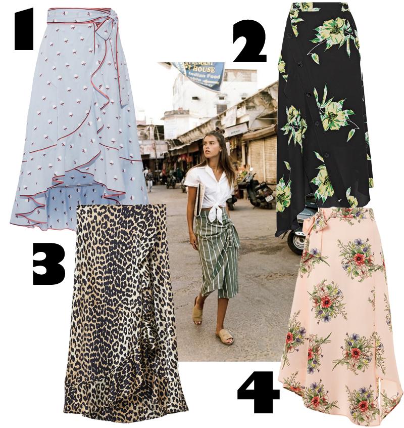 4 goodies: Wrap Skirt