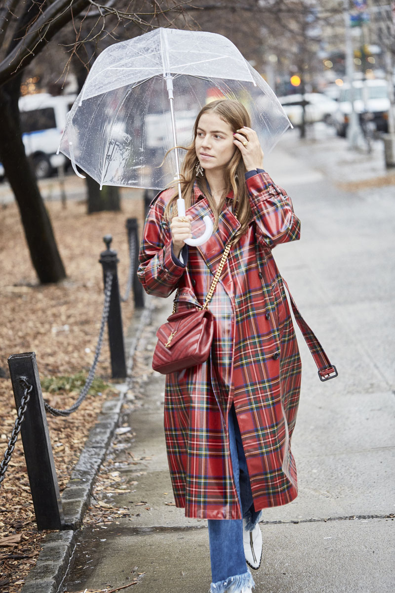How to look fancy during rainy weather