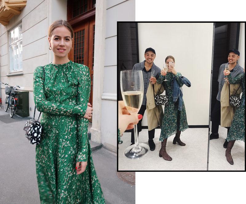 Chanel åbning og den smukkeste kjole