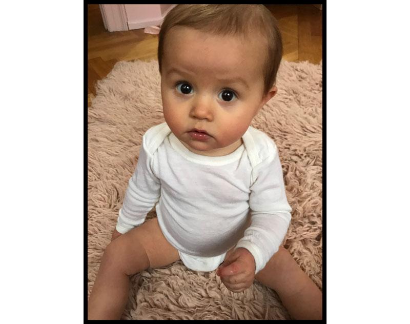 Roberta 9 måneder