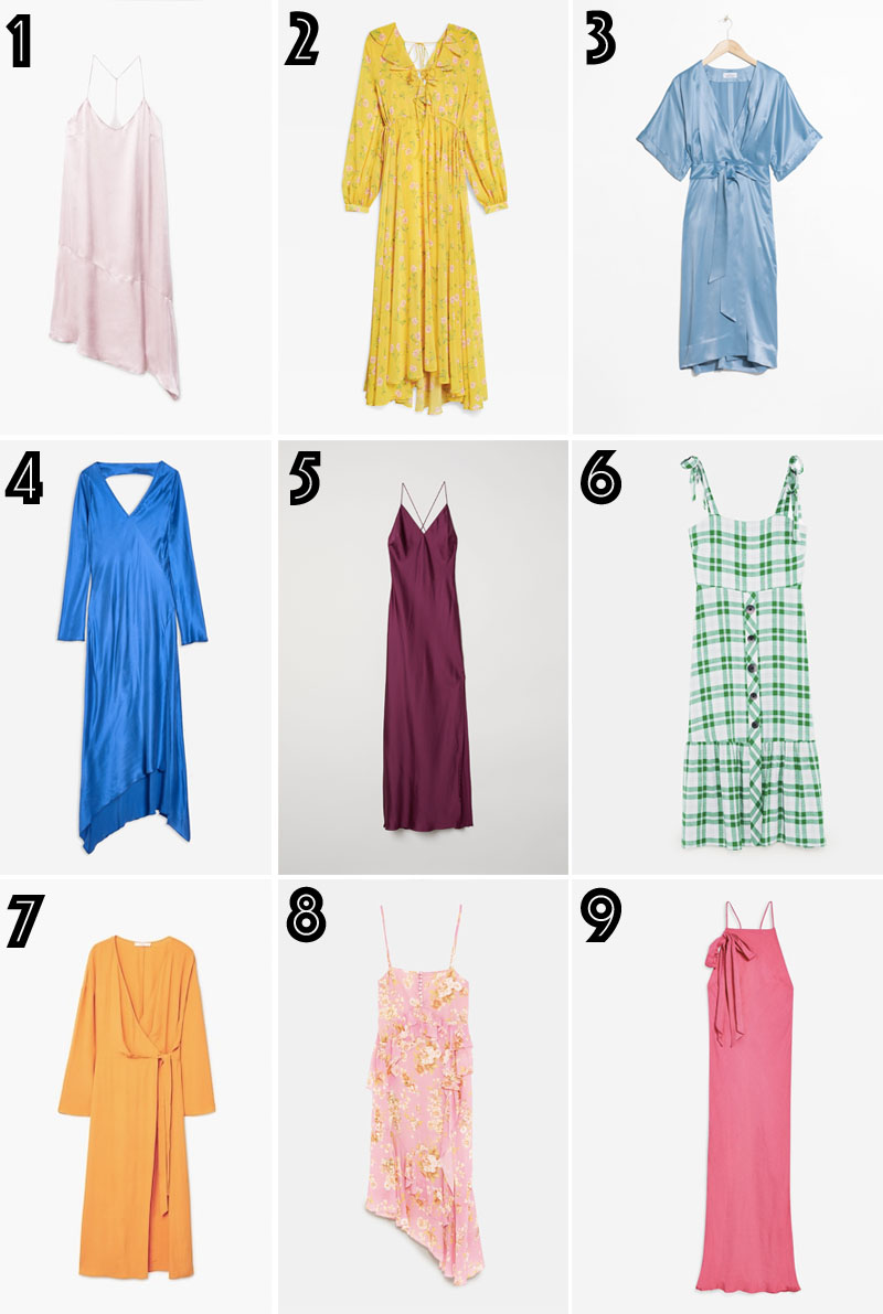 Summer dresses on budget