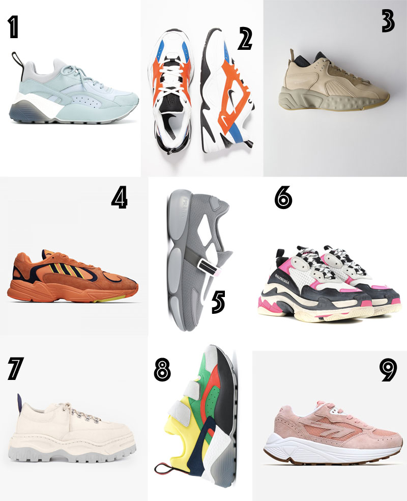 9 Chunky Sneakers